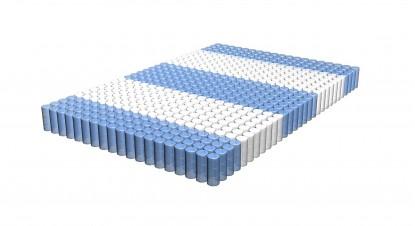 Независимый пружинный блок (7-зональный)