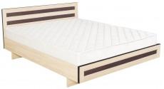 Двуспальная кровать КР-017 M2 (дуб девон)